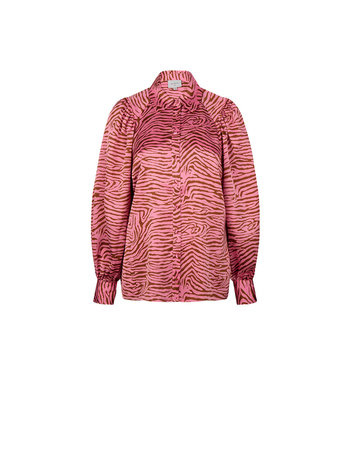 Dante 6 Lua tiger print blouse