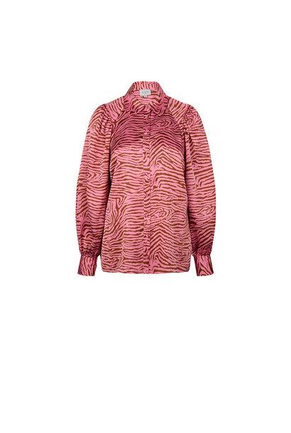 Lua tiger print blouse