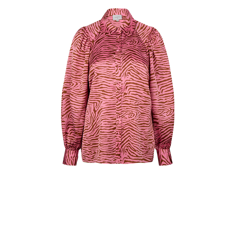 Lua tiger print blouse-1