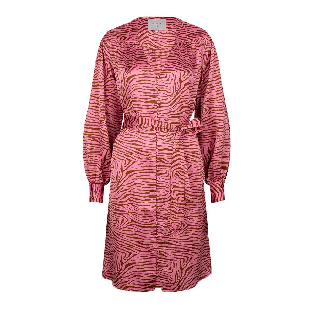 Roisin tiger print dress-3