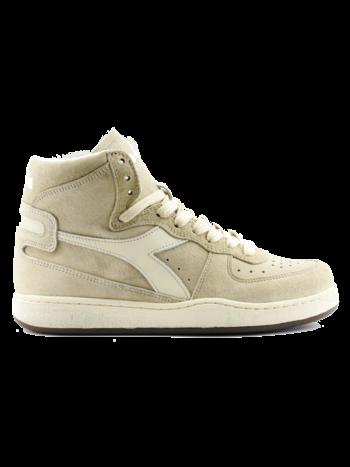 Diadora Sneaker basket suede used beige/ fog
