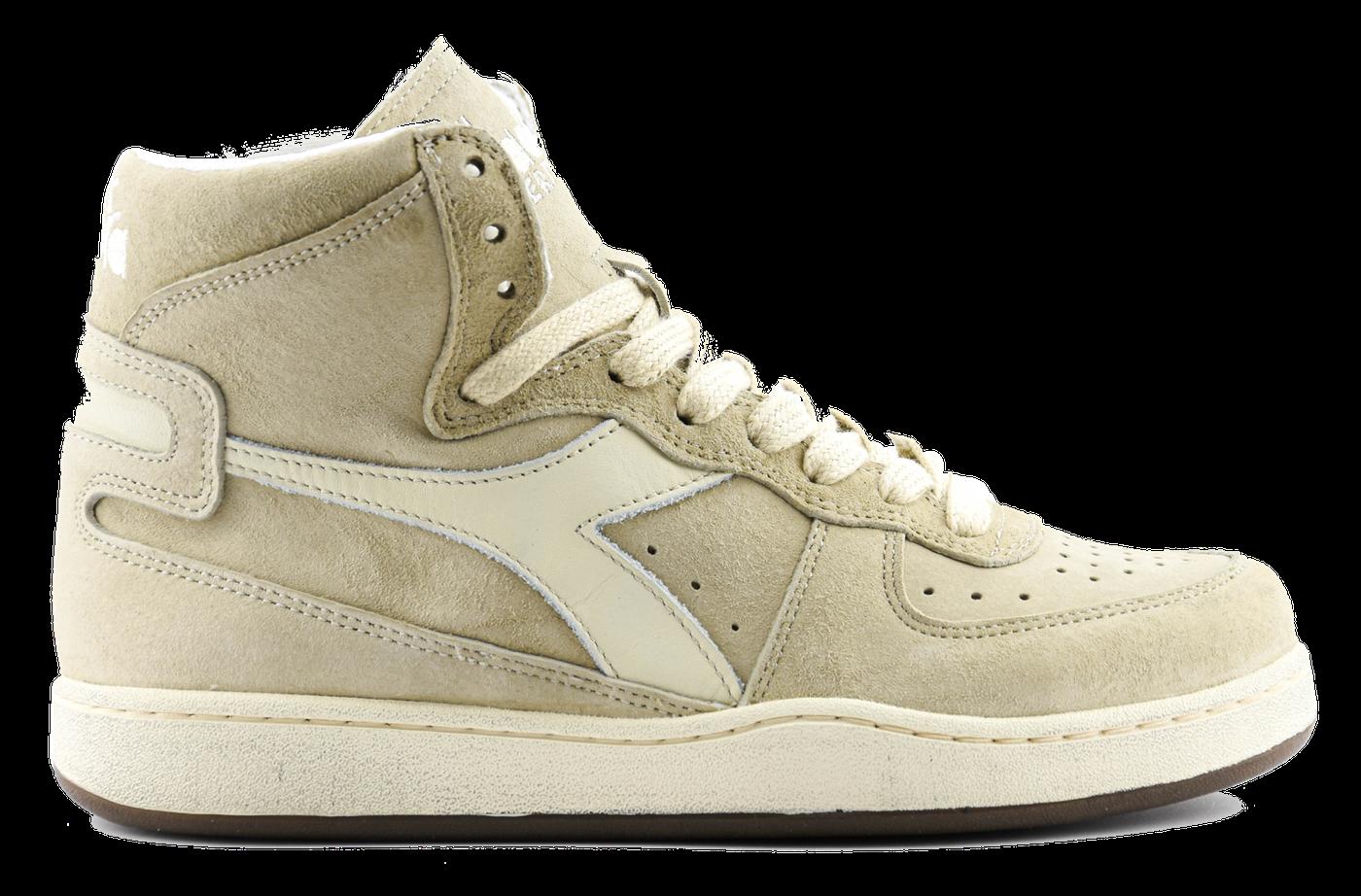Sneaker basket suede used beige/ fog-1