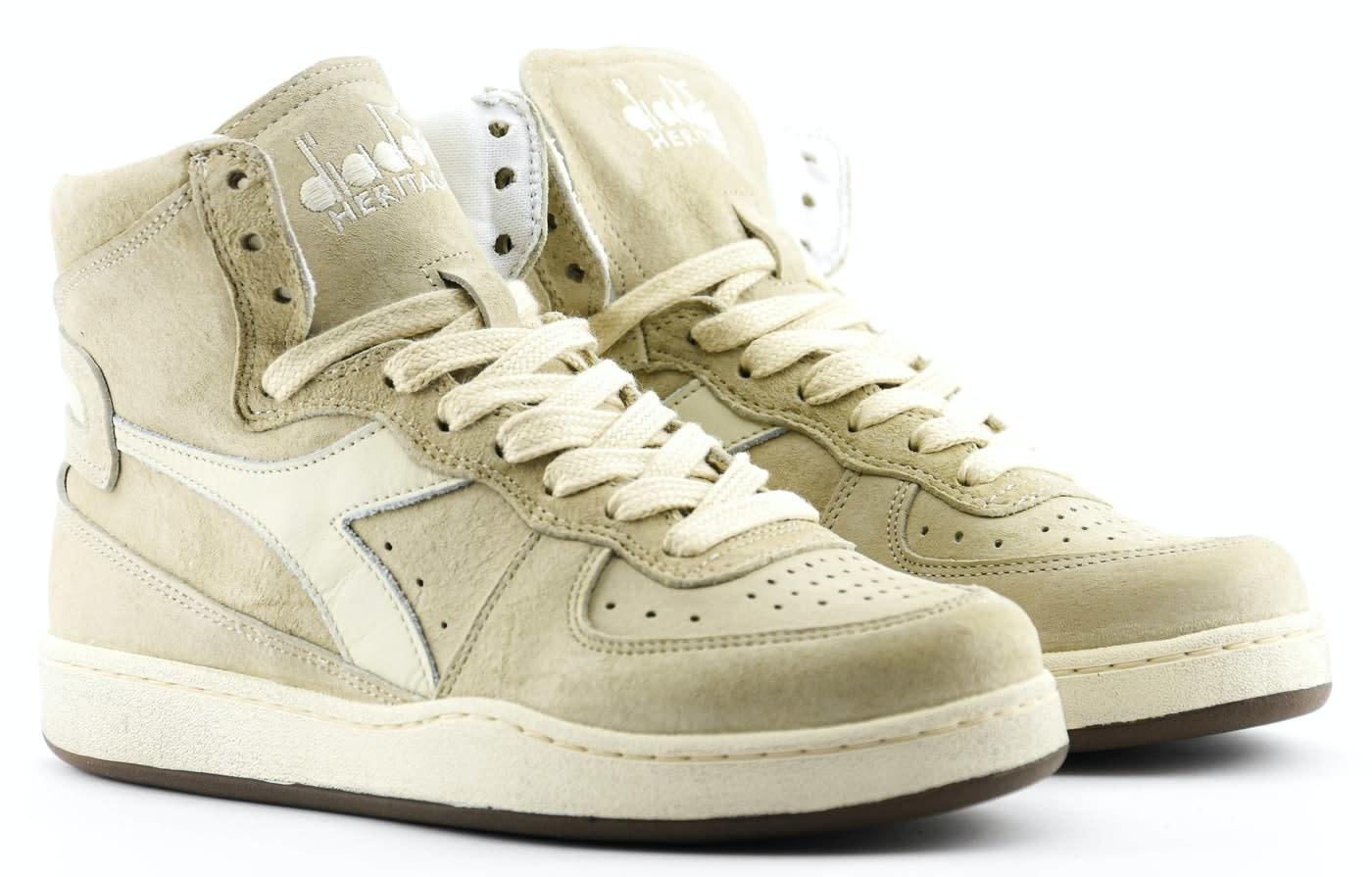 Sneaker basket suede used beige/ fog-2
