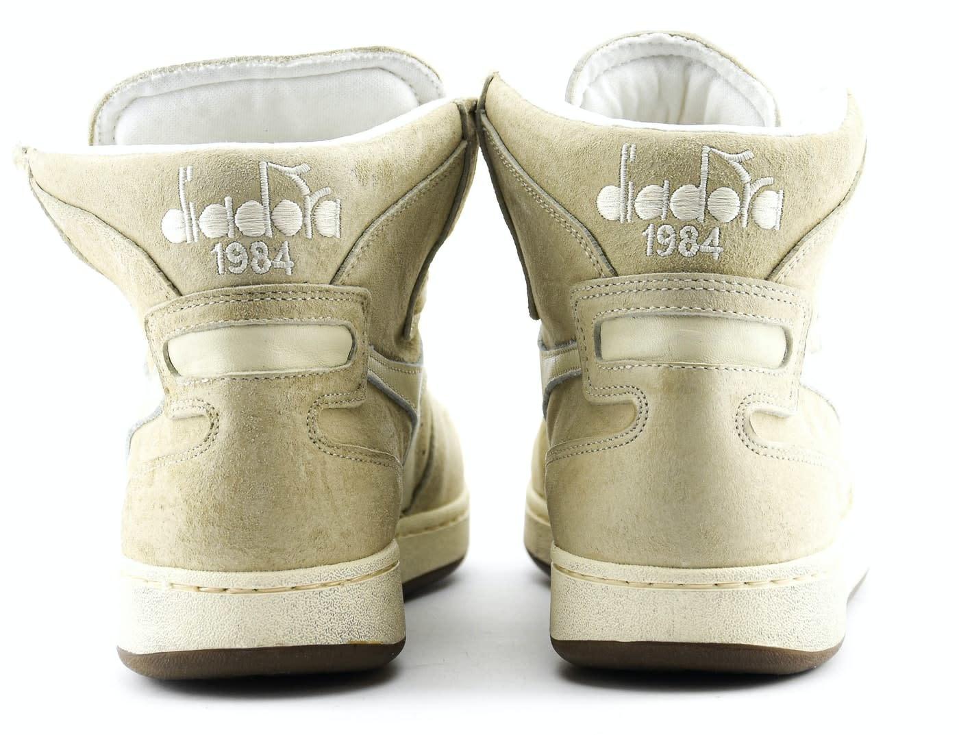 Sneaker basket suede used beige/ fog-3