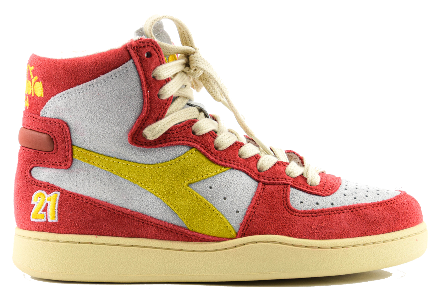 Sneakers baskets Atlanta white/red-1