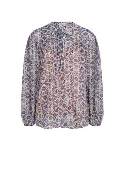 Cairo mozai print blouse