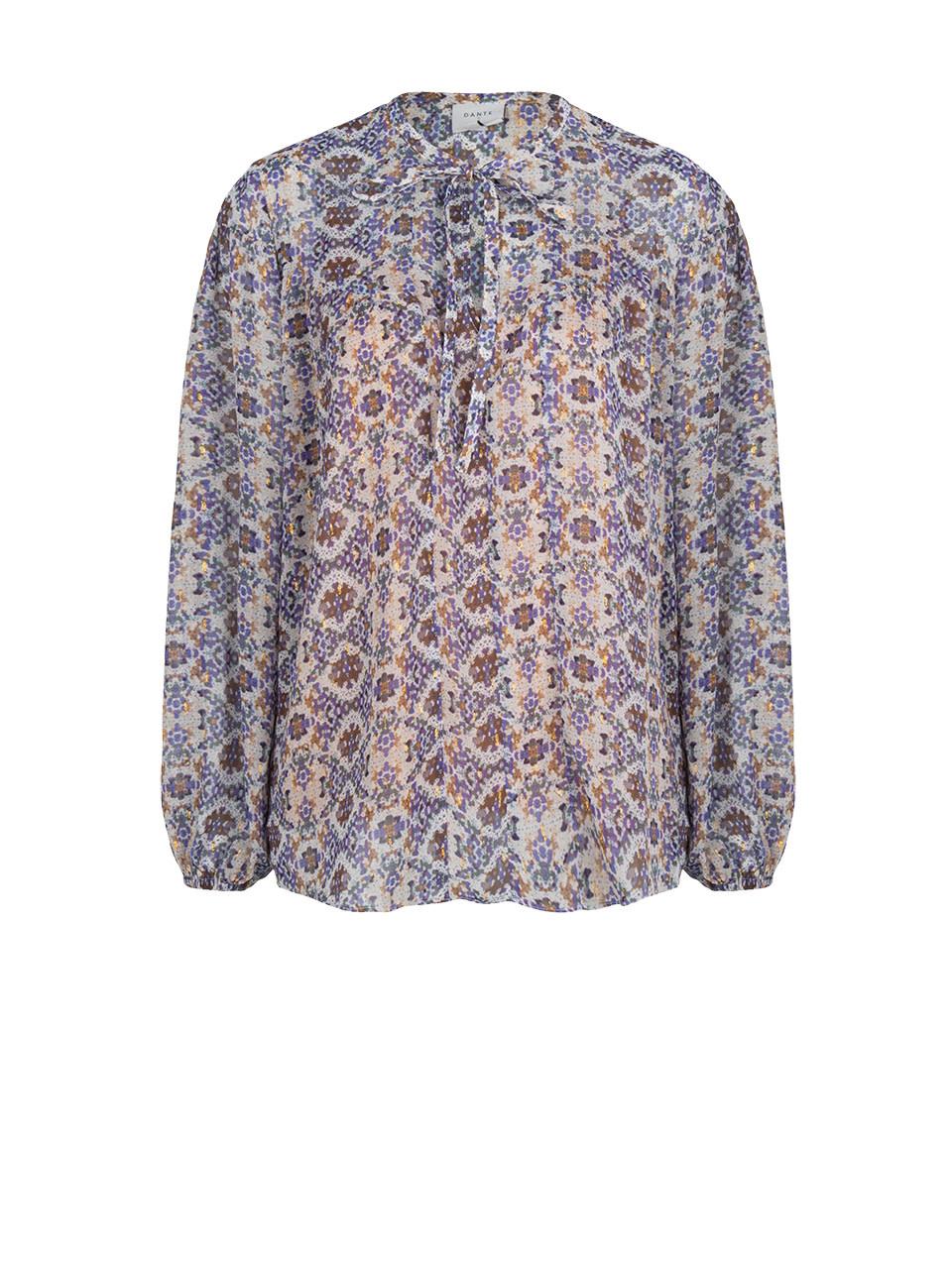 Cairo mozai print blouse-1