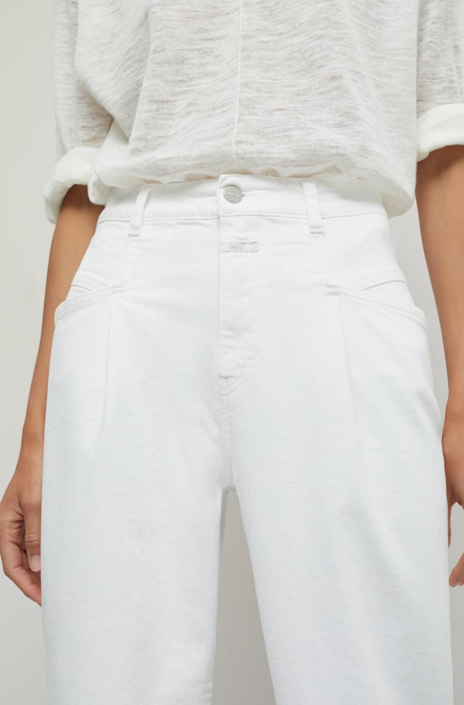 Pearl white organic denim-3