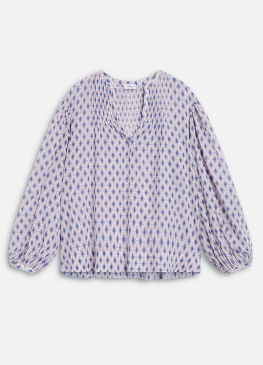 Voile blouse met print-1