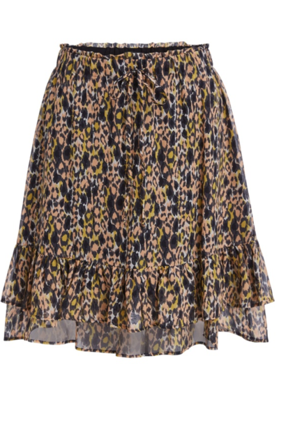 Skirt apricot/black
