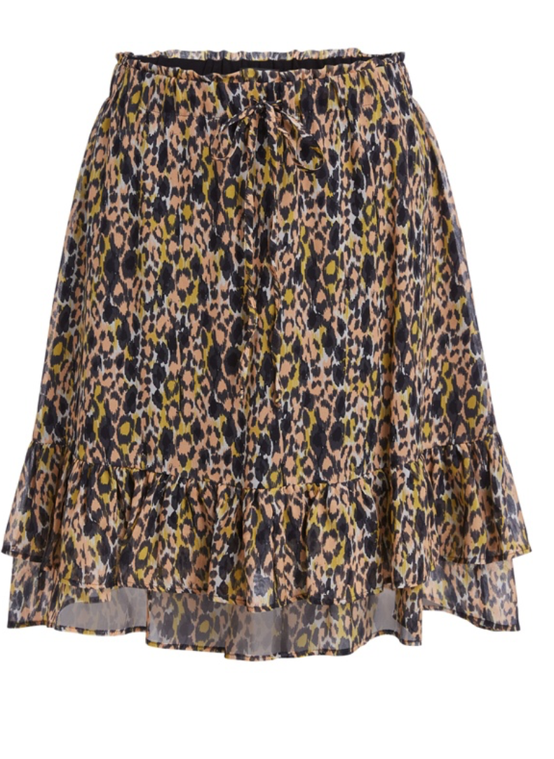 Skirt apricot/black-1