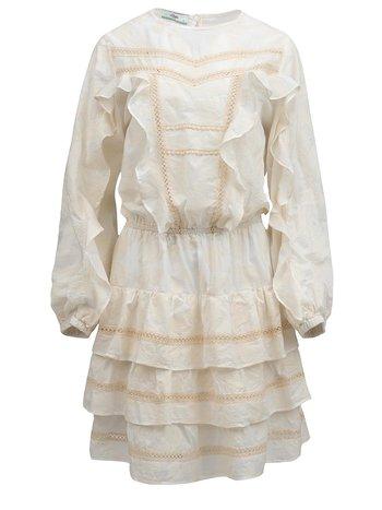 Devotion Short dress ecru