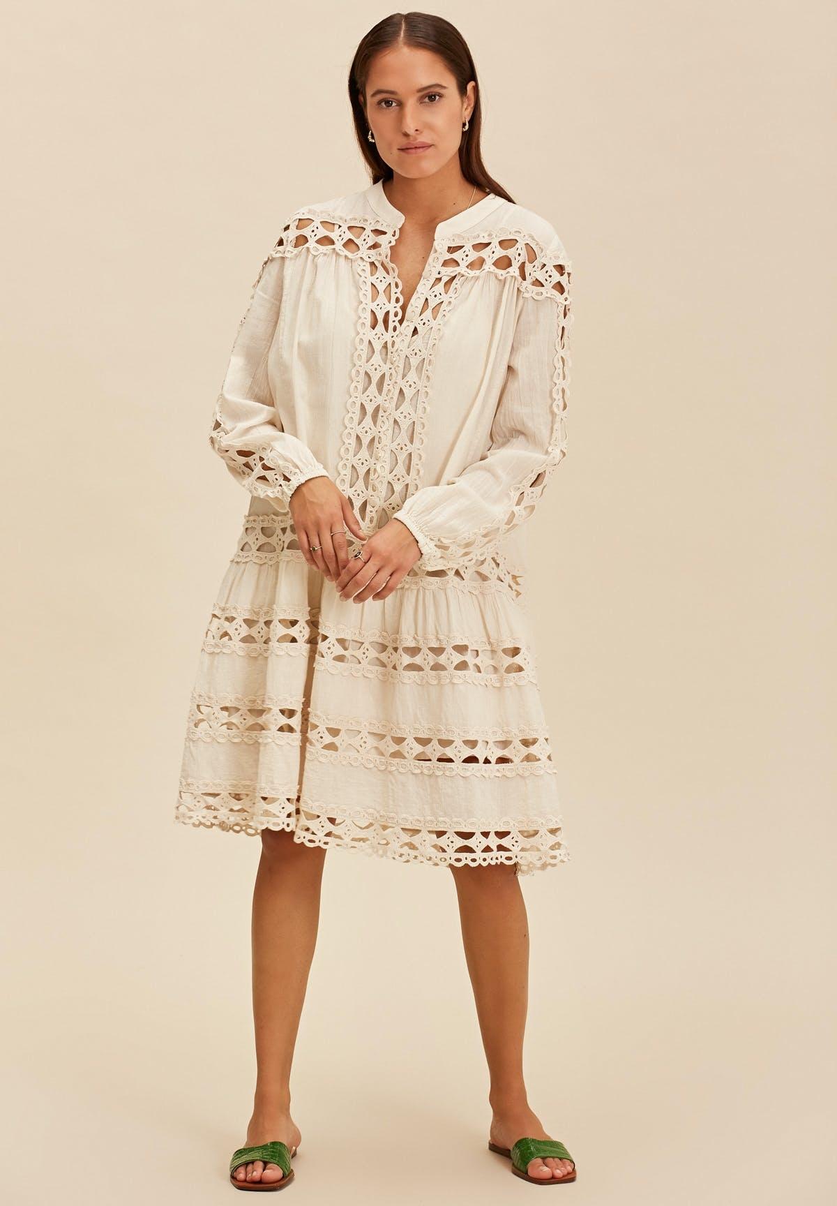 Short dress natural-1