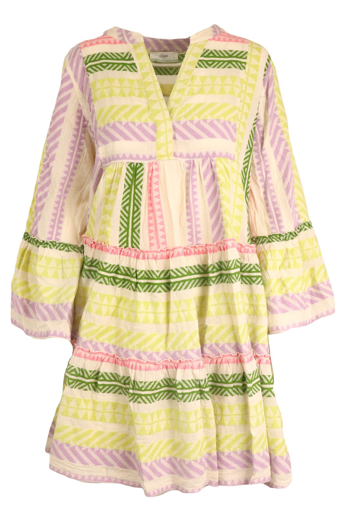Short dress Ella lila-1