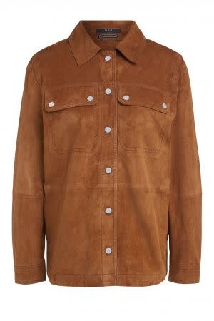 Jacket leather brown-1