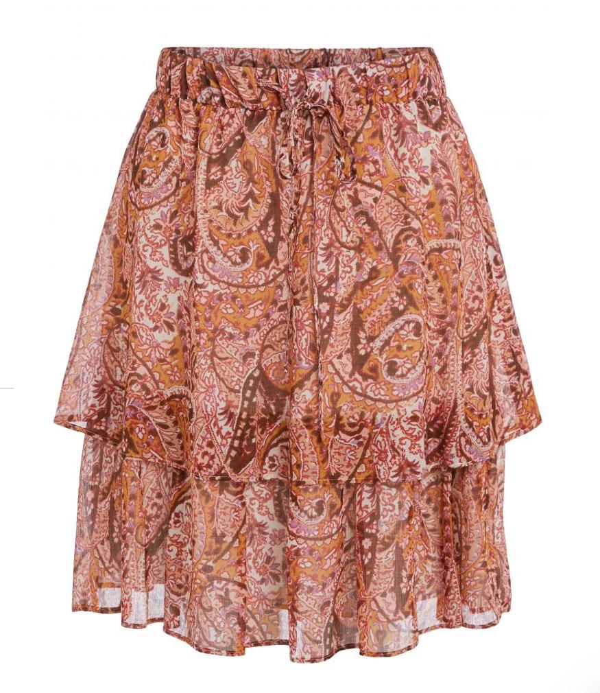 Skirt red yellow-1