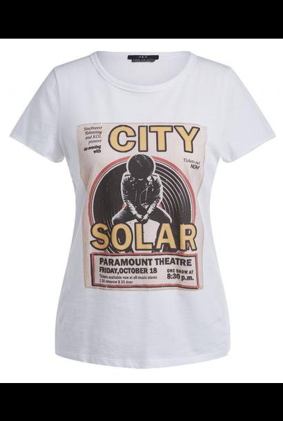 Tee city solar white