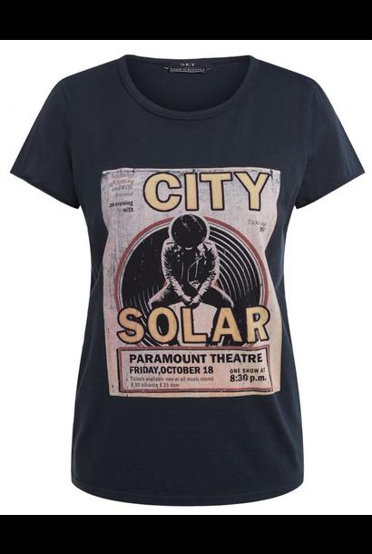 Tee city solar black