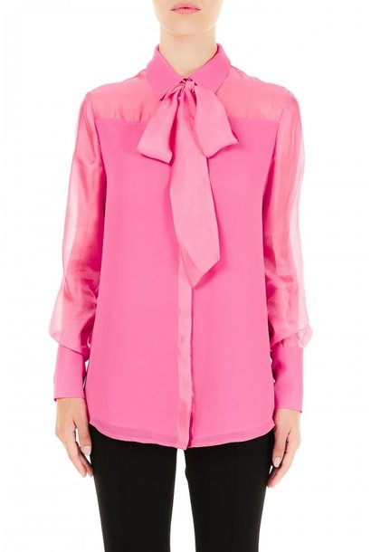 Blouse bubble pink