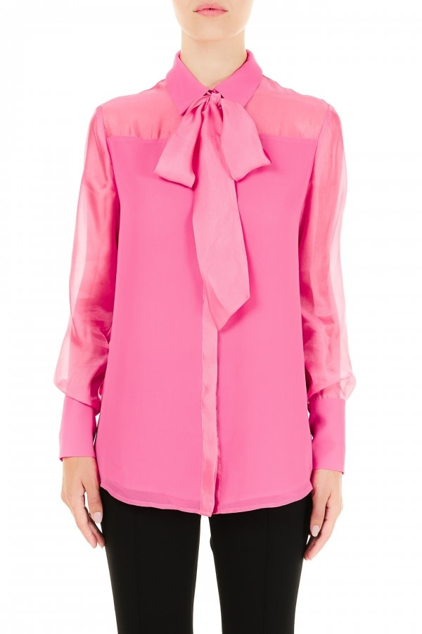 Blouse bubble pink-1