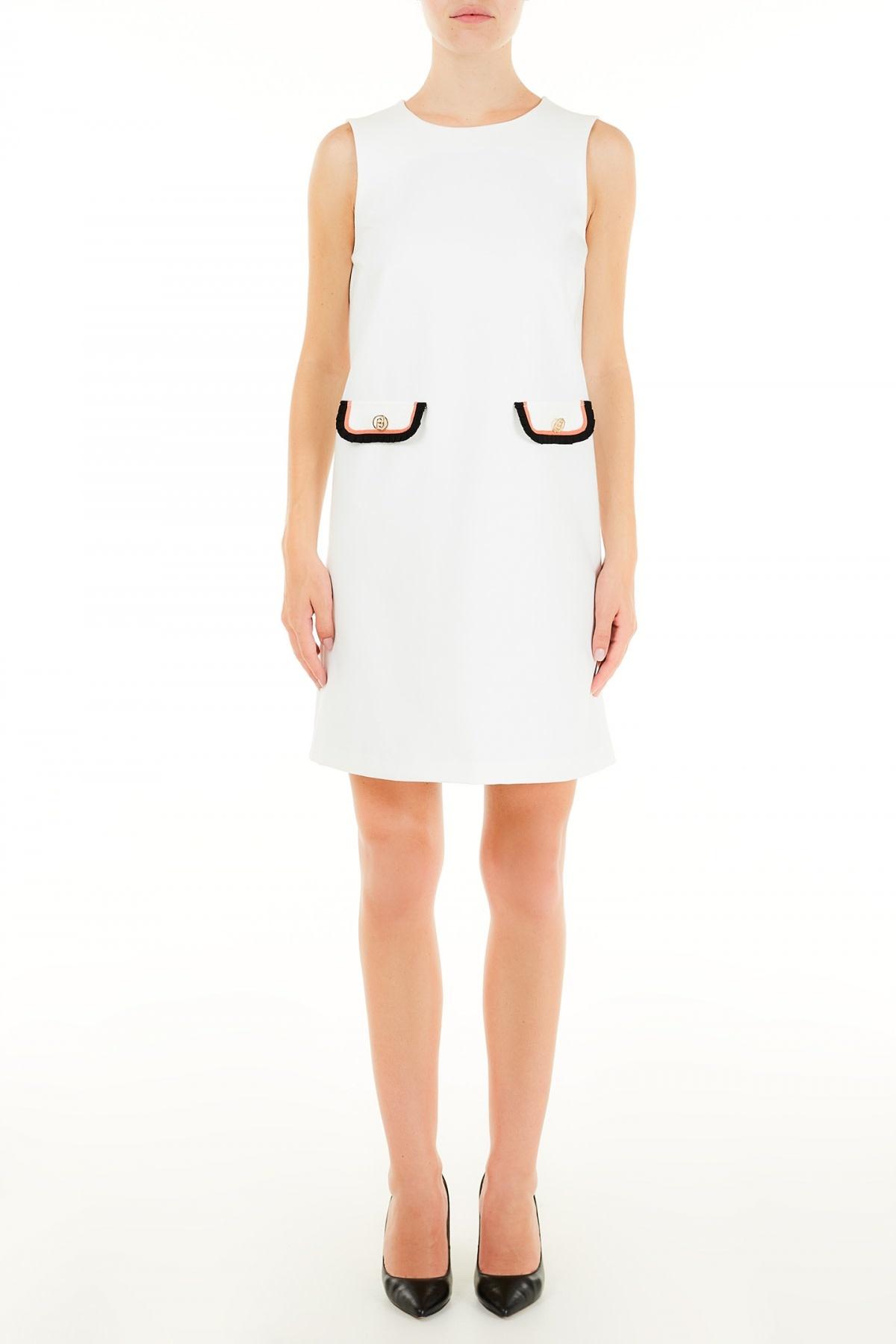 Dress classic white-1
