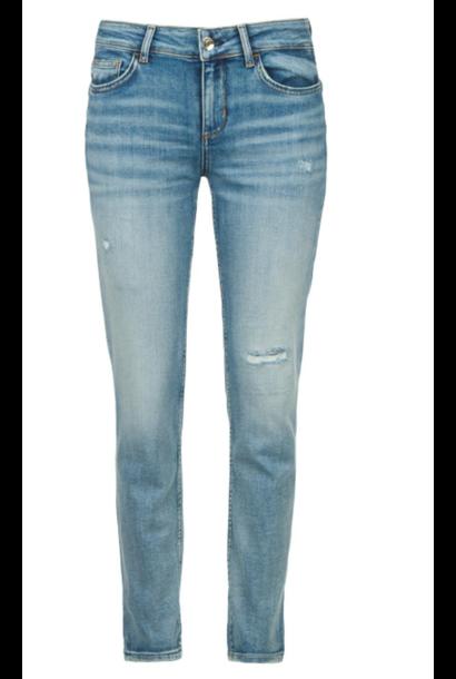 Jeans bottom up straight leg