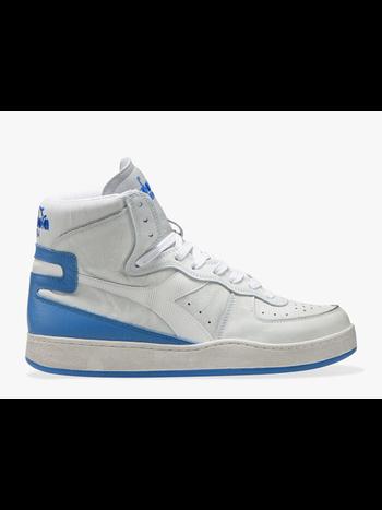 Diadora Sneaker basket used white/ campanula blue
