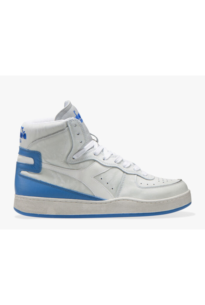 Sneaker basket used white/ campanula blue