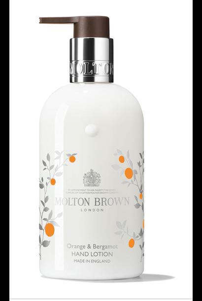 Orange & bergamot hand lotion