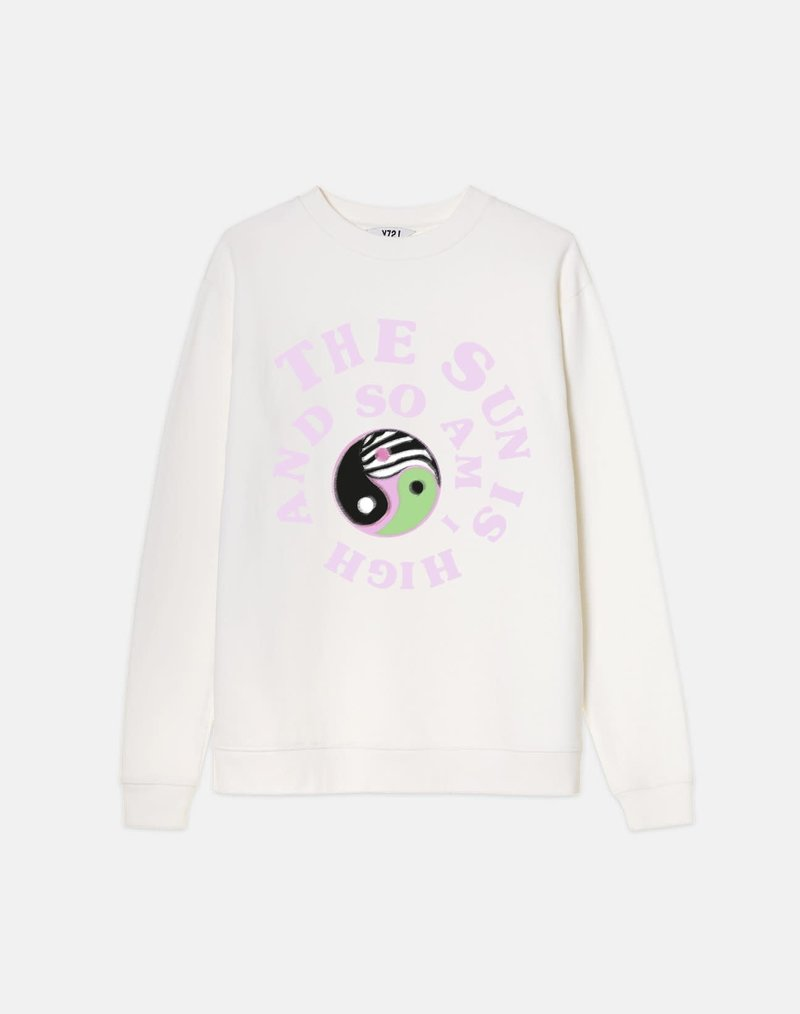 YZLS Sweater the sun is high