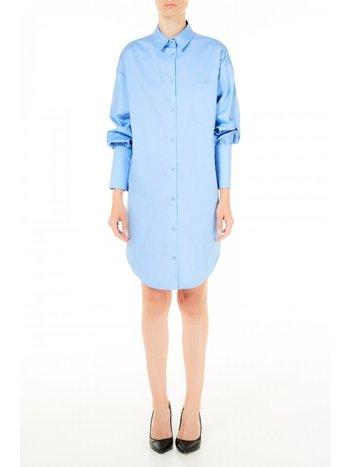 Liu Jo Dress poplin blue Provence