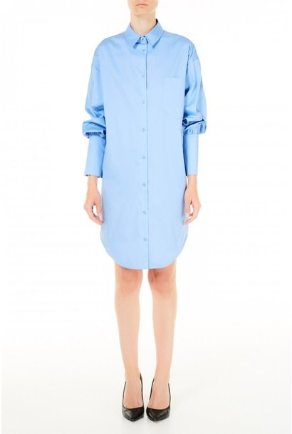 Dress poplin blue Provence