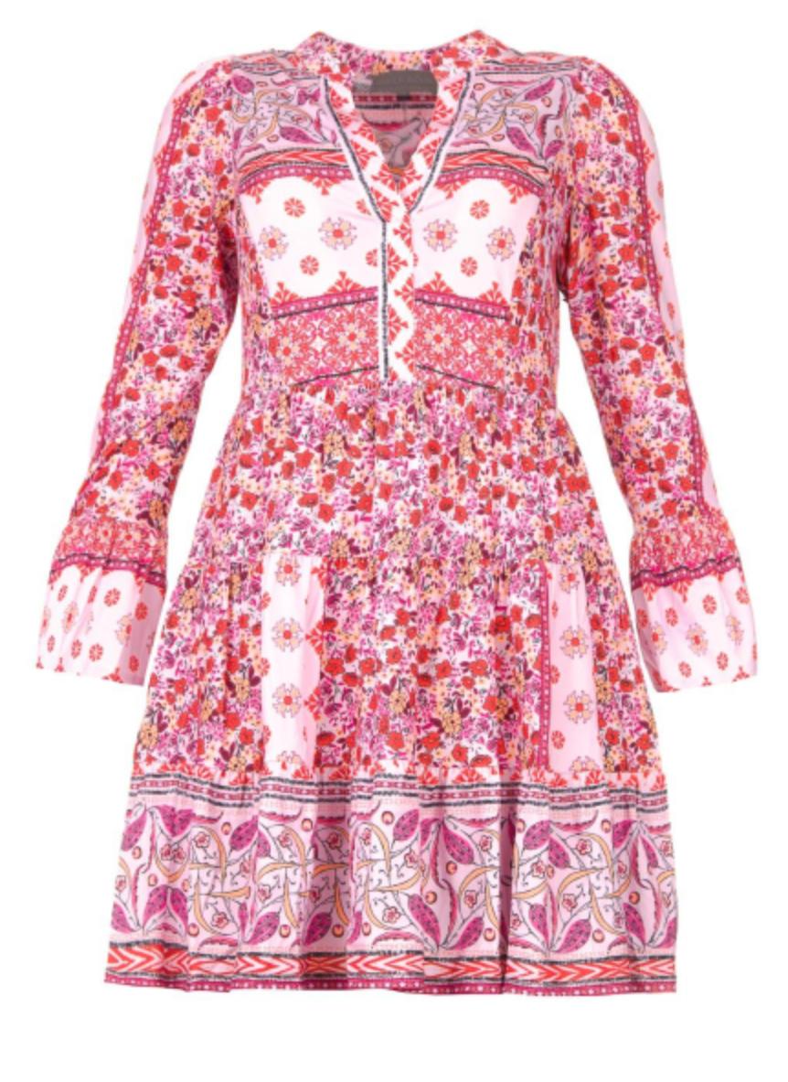 Dress Devon pink-1