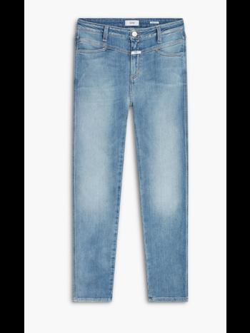 Closed Skinny pusher high waist mid blue
