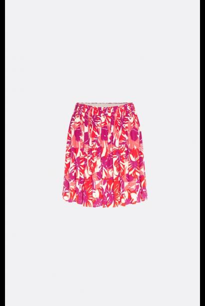 Swoosie skirt flaming red / bright hacienda