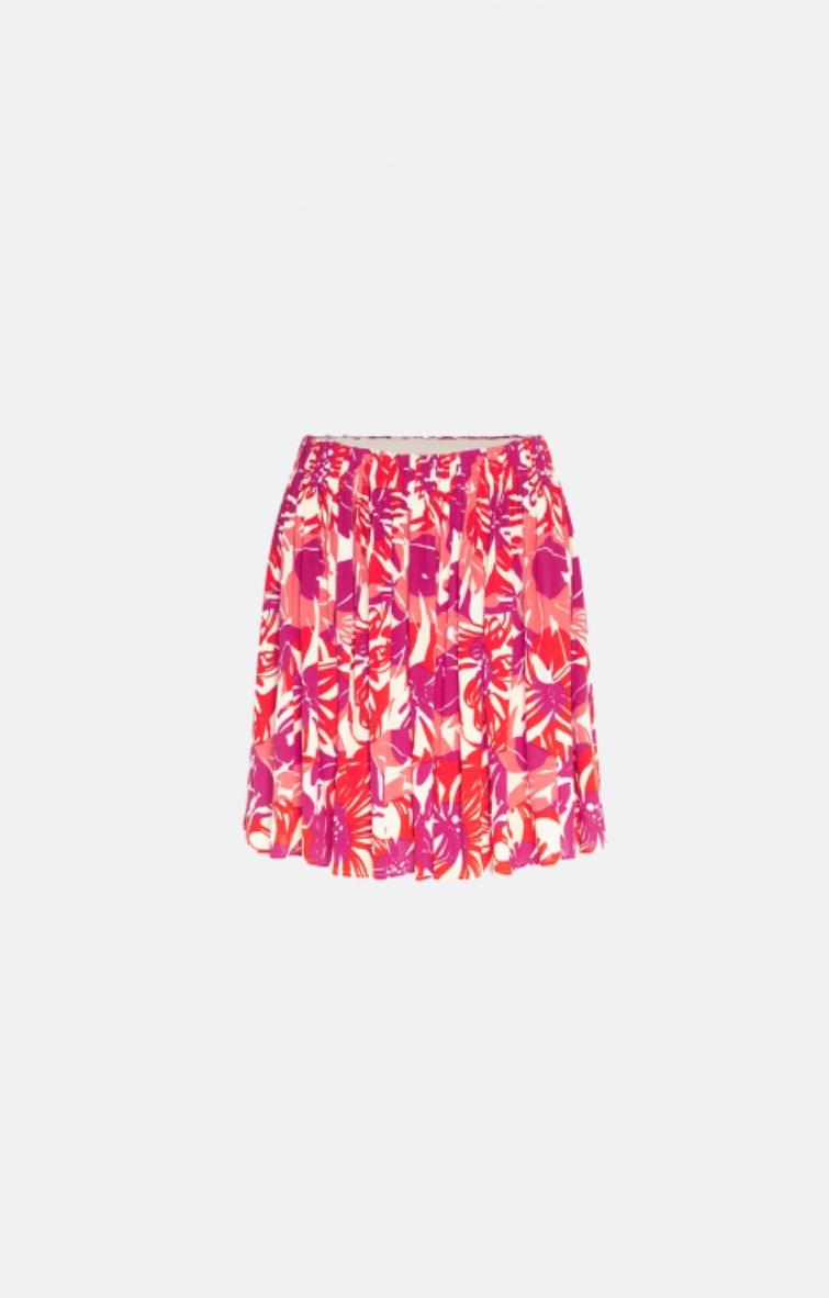 Swoosie skirt flaming red / bright hacienda-1
