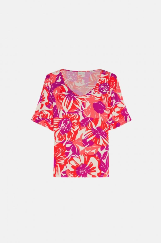 Swoosie skirt flaming red / bright hacienda-2