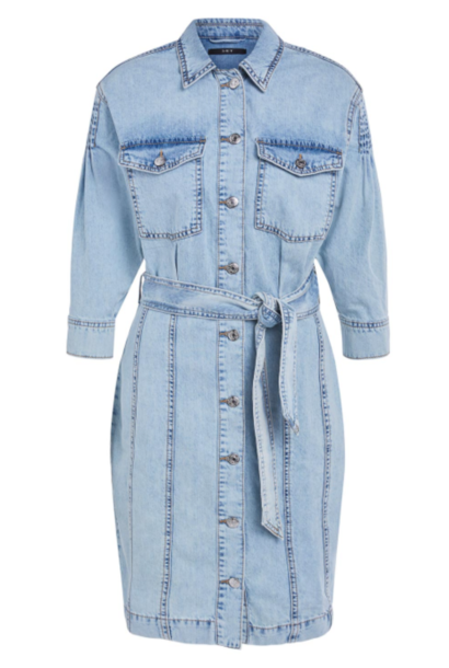 Dress faded denim