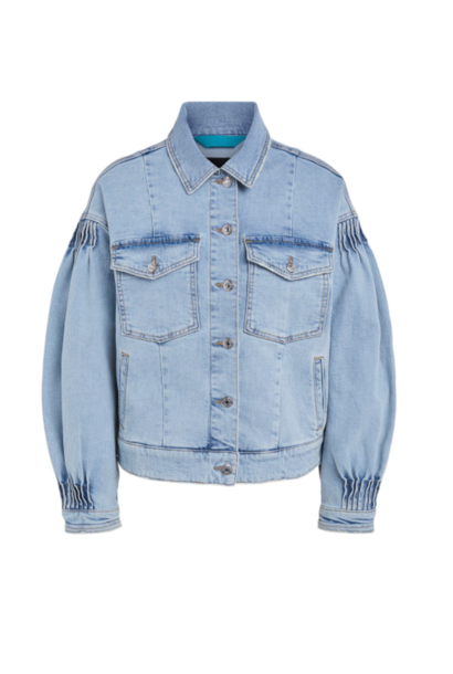 Jacket faded denim