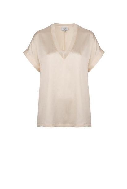 Odette stretch silk top