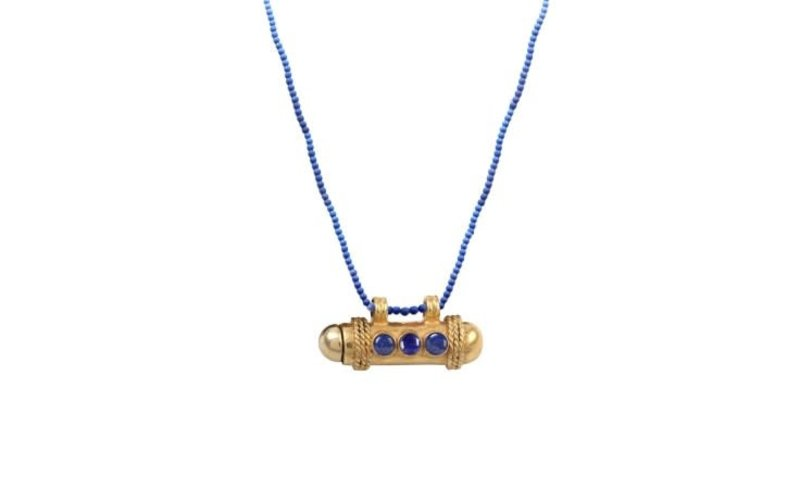 Ps Call Me Necklace sapphire