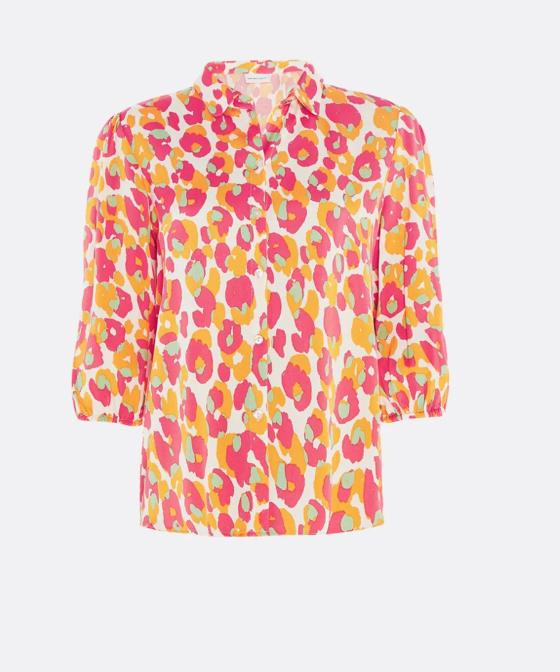 Gina cato blouse  loopy leopard-1
