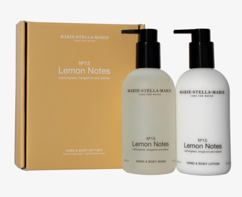 Marie Stella Maris Lemon notes gift set  300ML