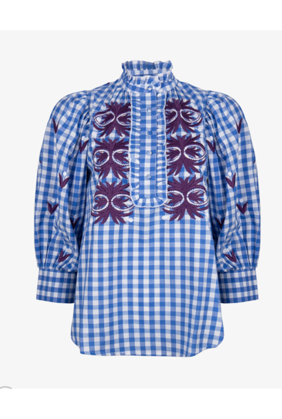 Patty blouse blue