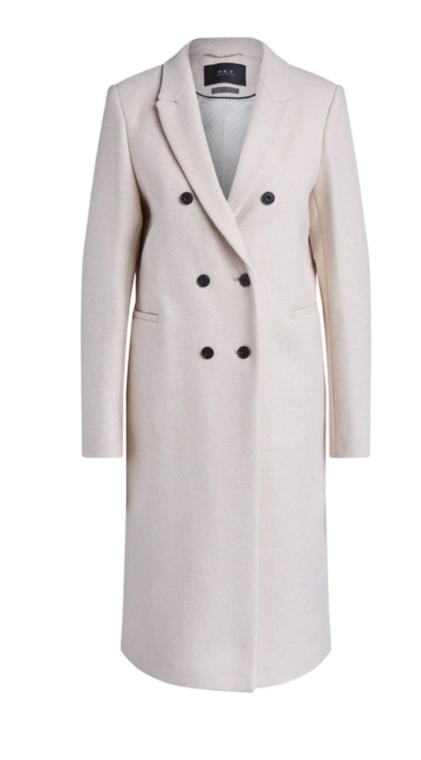 SET Coat classic ecru