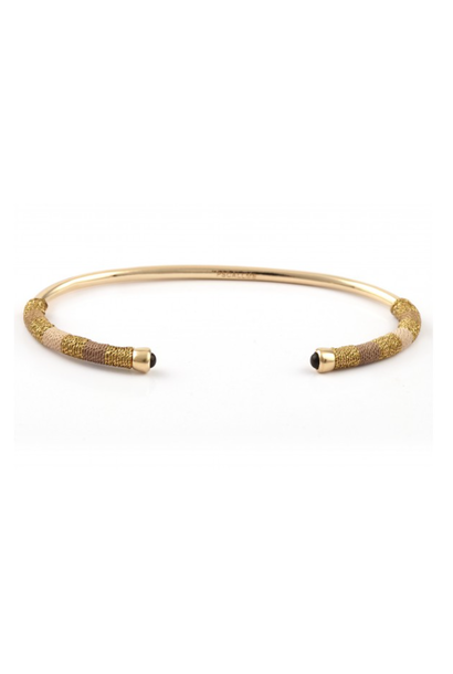 Bangle robe small sand goldplated