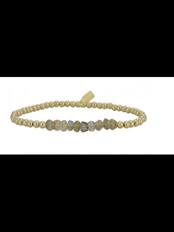 Ps Call Me Bracelet chance labradorite  gold coloured