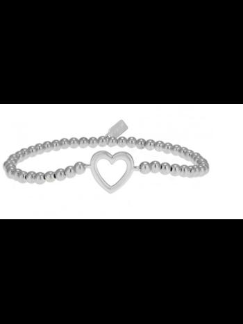 Ps Call Me Bracelet heart silver