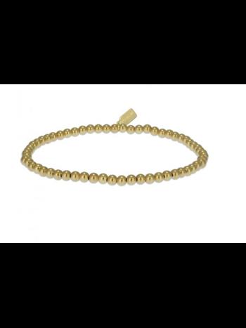 Ps Call Me Bracelet basic gold coloured 3mm