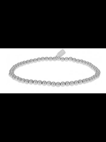 Ps Call Me Bracelet basic silver 3mm